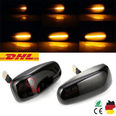 2× Dynamische LED SEITENBLINKER BLINKER für Mercedes W210 R170 W208 C208 SB19 DE