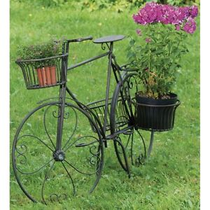 gartendeko fahrrad garten terrasse ebay. Black Bedroom Furniture Sets. Home Design Ideas