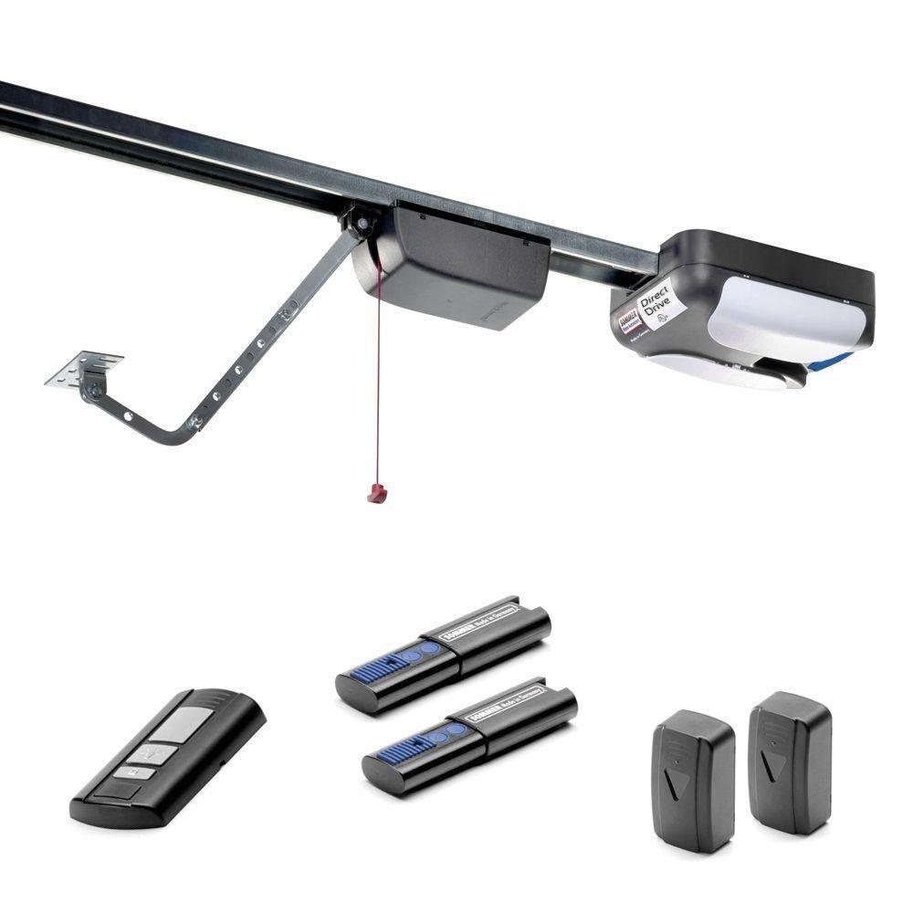 Garage Door Opener Direct Drive Soft Start Safety Beam Senso