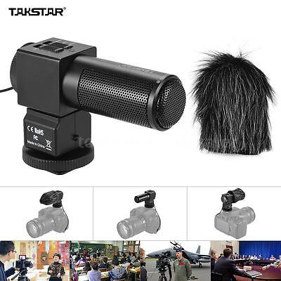 Takstar SGC-698 Photography Interview On-Camera Recording