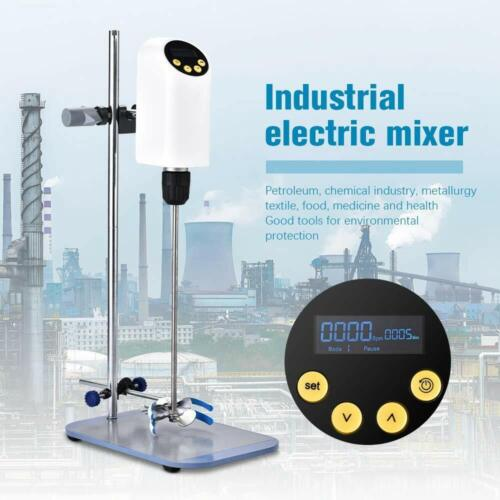 Hukoer Industrial Electric Lab Overhead Stirrer 40L 50000mpas 100-2000RPM New
