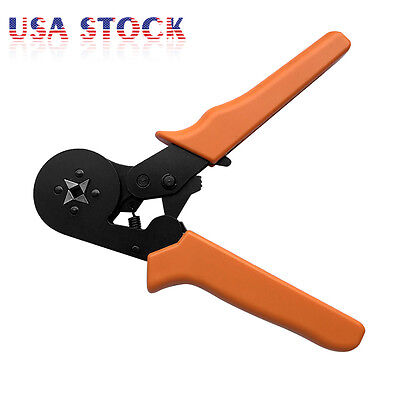 Self Adjusting Ferrules Crimper Crimping Plier Wire Terminal End Sleeves Tool