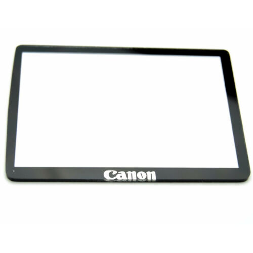 Canon EOS 550D Rebel T2i LCD Window outer Glass Screen Display +Tape adhesive
