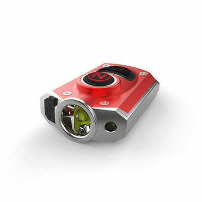 - Nebo Mycro Rechargeable Keychain Flashlight 400 Lumen - 6 Light Modes (Red)
