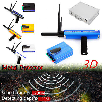 Us Gold Handhold 1200m Metal Detector Long Range Diamond Treasure Finder Machine