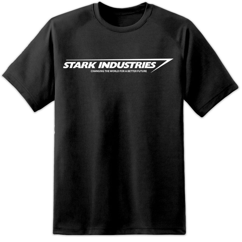 stark industries mens t shirt s3xl tony stark avengers