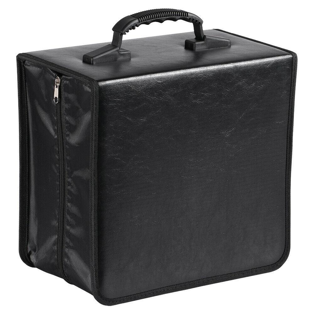 CD Tasche CD Hülle Aufbewahrungstasche Organizer Schutz für 400 Stück CDs / DVDs