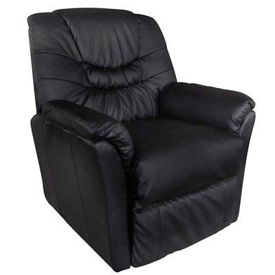 vidaXL Massagesessel Relaxsessel Fernsehsessel Massage+Heizung TV Sessel SCHWARZ