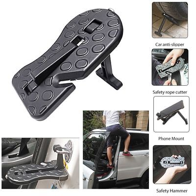 Folding Car Door Latch Hook Step Mini Foot Pedal Ladder for Jeep SUV Truck (Suzuki Vitara Jeep)