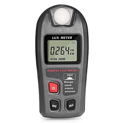 Digital Luxmeter Lichtmesser Photometer Helligkeitsmesser Beleuchtungsmessgerät
