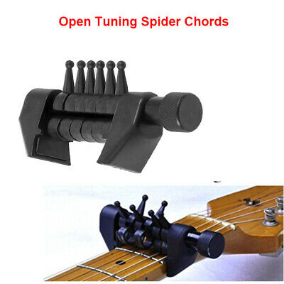 Multifunktions-Open-Tuning-Spider-Akkorde für Akustikgitarrensaiten Se Hot P4X6