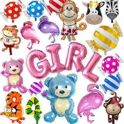 Luftballon Buchstaben Tier Geburtstag Hochzeit Party Dekor (1. Geburtstag Dekor)