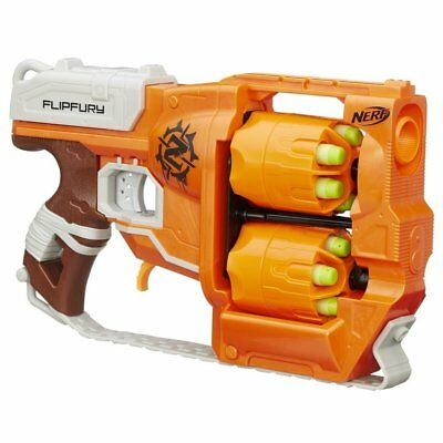 Nerf Zombie Strike Flipfury Blaster Fun Boys Kids Gun Toy Brand New