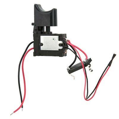 Eléctrico Trigger Interruptor Taladro Inalámbrico 7.2V-24V Metal Negro Durable