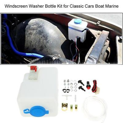 Washer Tank Pump Bottle Kit Universal Windshield Wiper Systems Quality Reservoir Windshield Washer Bottle
