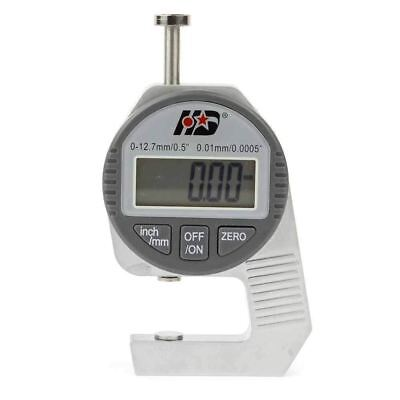 Electronic Lcd Digital Thickness Gauge Gage Metal Measuring