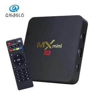 MX mini 4K Android Tv box with Kodi & LIVE TV  Included !!