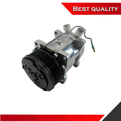 Sanden 508 Style A/C Air Conditioning Compressor Polished Finish