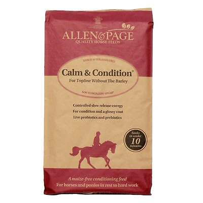 Allen & Page Calm and Condition Horse Feed 20Kg