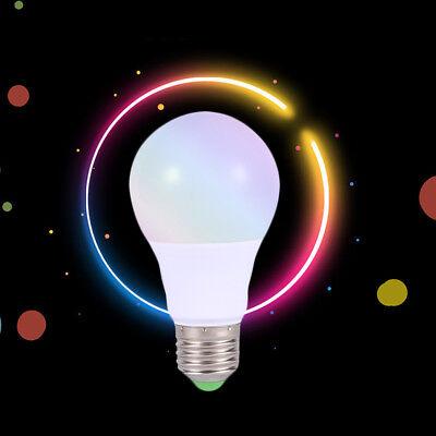 Best E27 RGB LED Bulb 3W RGB Lamp Light Change Color Remote Control Living