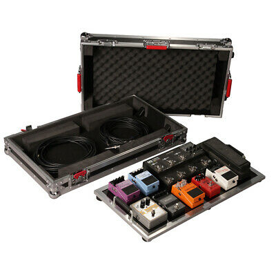 Gator G-TOUR PEDALBOARD-LGW Tour Series Large Pedal Board & Case with Wheels