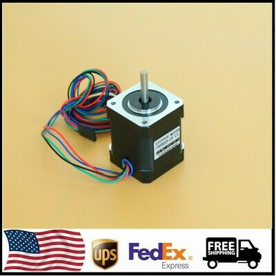 123pcs Nema17 Stepper Motor 1.7a 1.8 0.59 Nm 84 Ozin For 3d Printer And Cnc