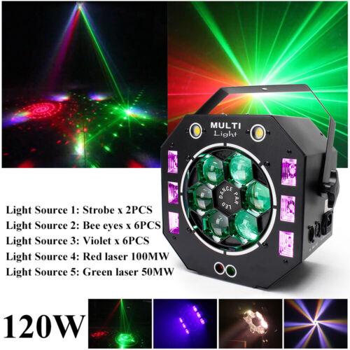 120w led rg laser strobe beam uv