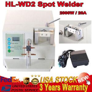 HL-WDII Dental Spot Welder Welding Machine LCD Oral Orthodontic Heat Treatment
