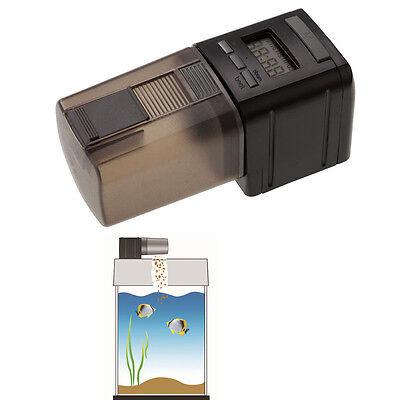 Used, Digital LCD Auto Automatic Fish Food Feeder Pond Aquarium Tank Feeding Timer for sale  China
