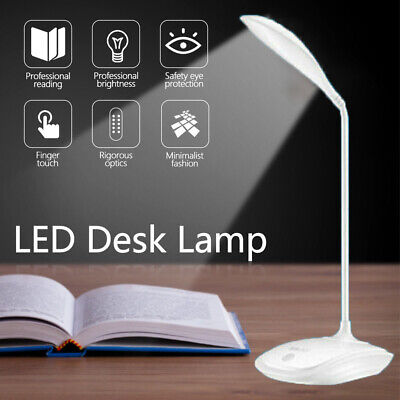 3 Modes Adjustable LED Desk Bedside Reading Lamp Table Study Light Touch Control