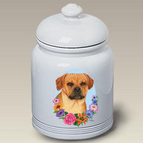 Puggle Ceramic Treat Jar TP 47123