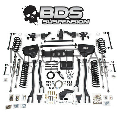 BDS SUSPENSION 2014+ DODGE RAM 2500 4WD 8 INCH 4 LINK LIFT KIT WITH FOX SHOCKS