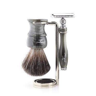 Men's Grooming Shaving Kit Shaving Brush & Razor Set Best Starter Resin Kit