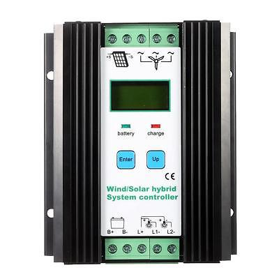 Wind&Solar Hybrid PWM Controller(600W Wind+400W Solar) 12V/24V Automatic W5T2