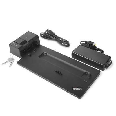 Lenovo USA ThinkPad Ultra Docking Station (P/N; 40AJ0135US ) For P52s, L580,...