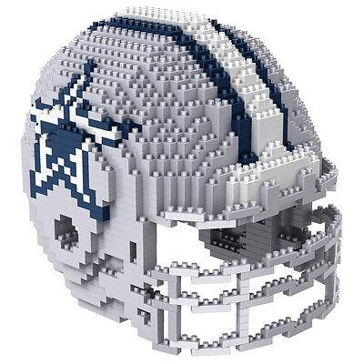 NFL DALLAS COWBOYS 3D BRXLZ Puzzle Helm Helmet Set Football Footballhelm ()