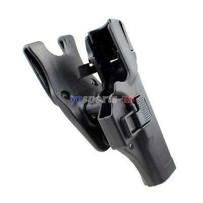 Level 3 Auto Lock Waist Belt Duty Holster Fit Glock 17 19 22 23 31 32 Right Hand