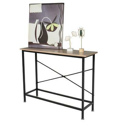 Console Table Modern Accent Side Stand Entryway Hall Display Drawer Storage
