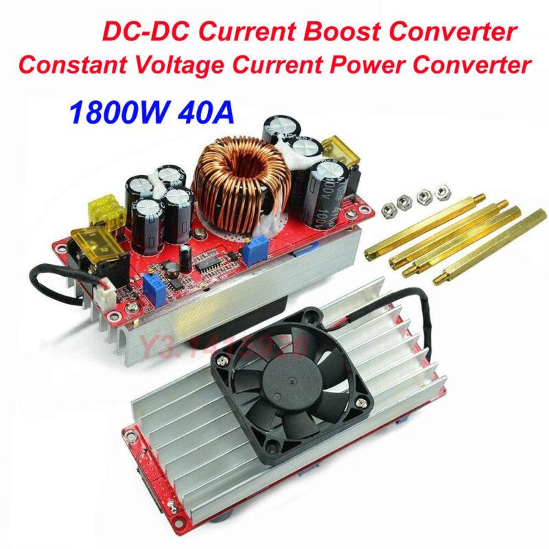 1800W 40A DC-DC Current Boost Converter Constant Voltage Current Power Converter