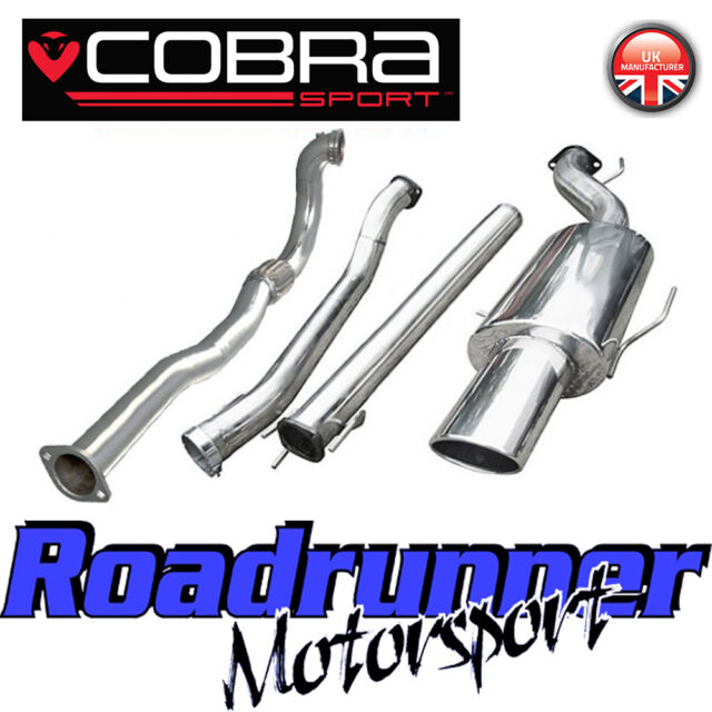"Cobra Sport Astra GSi MK4 3"" Turbo Back Exhaust System Non Res & De Cat VZ03d"