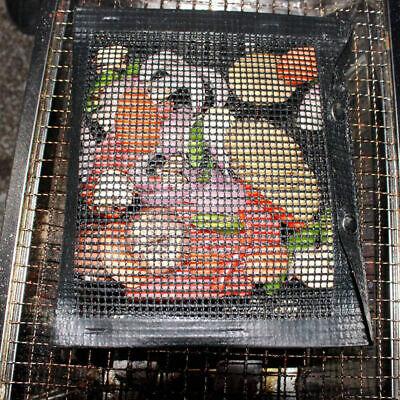 Non-Stick BBQ Mesh Grill Pad Reusable Heat-resistant Bag Barbecue Baking Mat