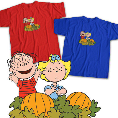 Charlie Brown Great Pumpkin Halloween Linus Mens Womens Kids Unisex Tee T-Shirt - Charlie Halloween