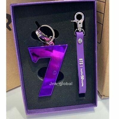 BTS x Baskin Robbins Collaboration Light Key Ring Holder Chain + Free Track Num