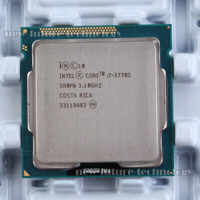 Intel Core i7-3770S SR0PN CPU 3.1GHz LGA1155 CM8063701211900 Socket H2 100% work