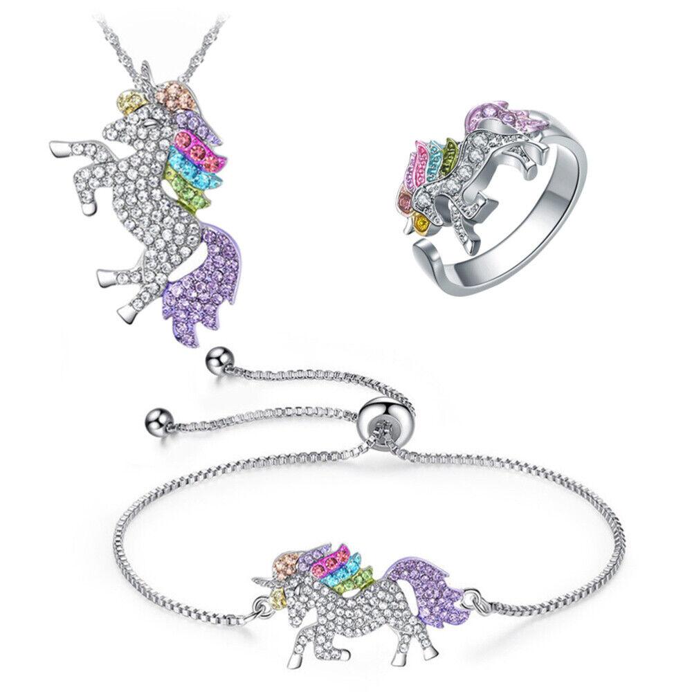 Women Lady 3Pcs//Set Elephant Pendants Jewelry Earrings Bracelet Necklace Decor