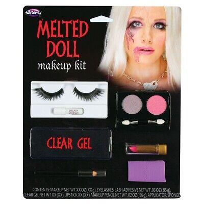 Geschmolzener Puppe Gesicht Make-Up Voodoo Puppe Halloween Special - Puppe Halloween Make Up