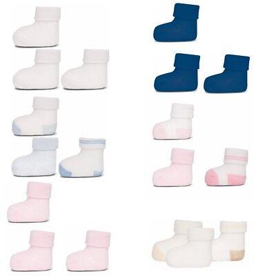 ewers 3er Set Baby- Socken Erstlingssöckchen Neugeborenen Söckchen o Plüsch