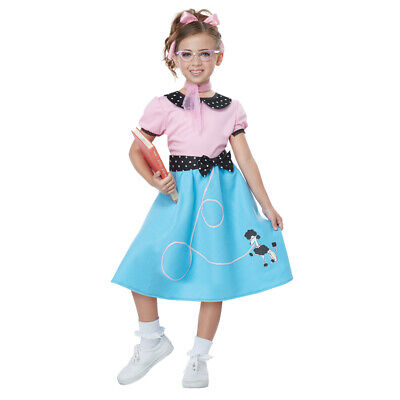 Sock Hop Girl (Girls 50's Sock Hop Dress Costume size Large)