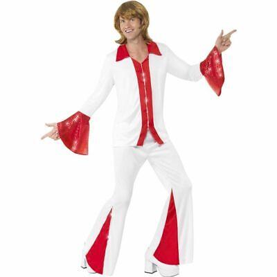 Smi - 70er Jahre Herren Kostüm Disco Tänzer Karneval (Disco Tänzer Kostüm)