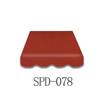 Markisenstoff Markisen-Bespannung 100% ACRYL Garten Volant 4*3 m SPD-078